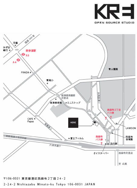 KREIの地図