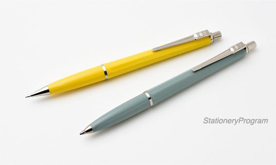 バログラフのボールペン(手前)とシャープペンシル(奥)
